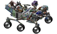 This image is from computer-assisted-design work on the Mars 2020 rover. The design leverages many successful features of NASA's Curiosity rover, which landed on Mars in 2012, but also adds new science instruments and a sampling system to carry out new goals for the 2020 mission.Credits: NASA/JPL-Caltech                                                                            After an extensive review process and passing a major development milestone, NASA is ready to proceed with final…