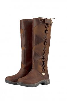 Dublin Ladies Mersey Boots, if you are not satisfied our excellent customer service is standing by to help. The Dublin Ladies Mersey Boots are a waterproof and Muck Boots, Tall Riding Boots, Tall Boots, Cowboy Boots, Wild Women Expeditions, Country Boots, English Riding, Designer Boots, Brown Boots