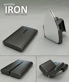 Best Crazy Cool Gadgets... A transformer portable iron... ^_~