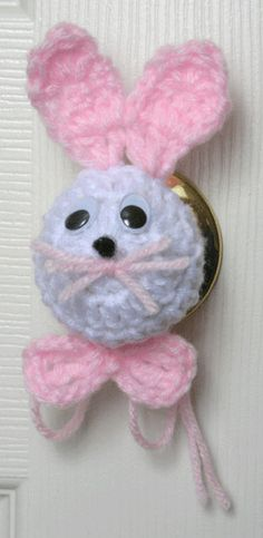 Making these for all the doorknobs in the house for Easter.  Husband will LOVE IT!  :)