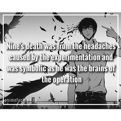 Nine was the brains of the operation, and Twelve had heart...
