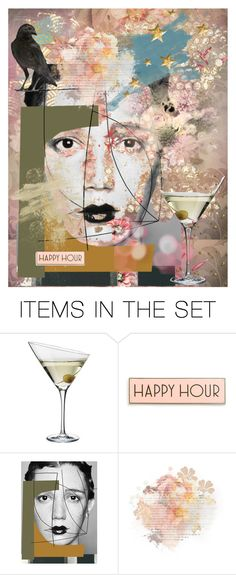 """""""*happy hour*"""" by karineg ❤ liked on Polyvore featuring art"""