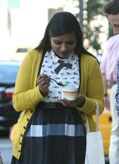 """Mindy Kaling as Dr. Mindy Lahiri on """"The Mindy Project"""" <3 xx"""