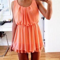 Oh wow ! La petite robe parfaite pour cette été les filles ♥