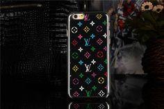 LV Gucci moderne Hardcase mit silberen Kanten für iPhone 6/6 Plus - spitzekarte.com