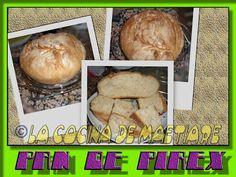 La cocina de Maetiare: Pan de pirex o de principiante
