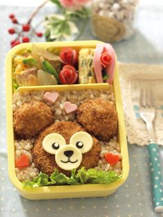Duffy croquettes Bento♡