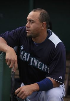 Tough guy Miguel Olivo. Mariners.