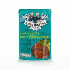 Hairy Dieters Healthy Sauces on Packaging of the World - Creative Package Design Gallery