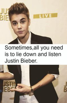 I do this every day lol #BELIEBER