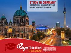 Study in Germany: Make Friends Around the World and Expand Your Horizons! #StudyinGermany #StudyAbroad #iubh #Education #College #Higher Education #RiyaEducation #Germany