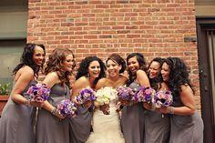 gray wedding   http://www.everylastdetailblog.com/