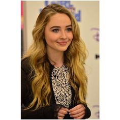 Girl Meets World's Sabrina Carpenter Visits Hometown Kohl's Store To... ❤ liked on Polyvore featuring girls