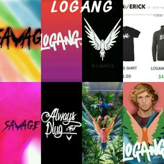 Hell yea I made this #LOGANG FOR LIFE❤❤