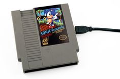 Limited Edition NES Hard Drive - Sonic the Hedgehog - 500GB USB 3.0 - 72 Pins. WANT!