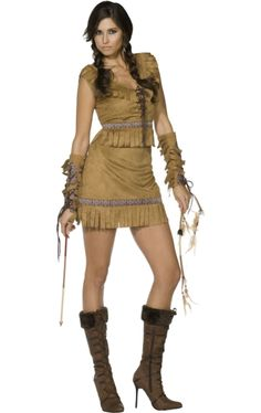 130c9e6da0 Fever Pocahontas Costume Pocahontas Fancy Dress