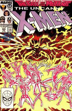 Uncanny X-Men # 226 by Marc Silvestri & Dan Green