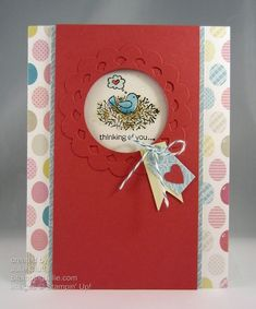 for the birds thinking of you card