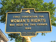 The Wesylean Chapel where the Seneca Falls Convention was held. My husband and I are making the trip for our anniversary this year! So excited!