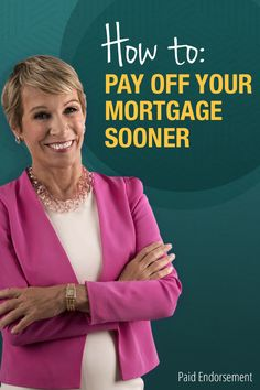 "Learn how to pay off your mortgage fatser! Read the ""Shark Tank"" star's guide on how to pay off your mortgage faster by taking advantage of today's low interest rates!"