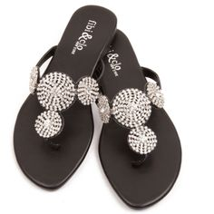 The New Star has been brought back from retirement due to customer demand. Now with a more cushioned sole and more brilliant rhinestones, this sandal will be an amazing addition to your collection.