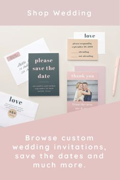 Browse millions of designs including save the date, invitations, RSVP, gifts, favors, decor, thank you and bridal shower. The easy-to-use template designs are ready to be personalized with love and care. Everything you need to plan your special day!