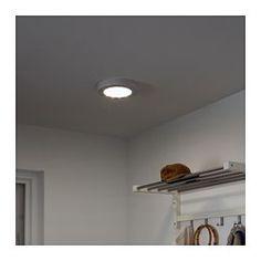 STÖTTA Decken /Wandleuchte, LED, Batteriebetrieben Weiß