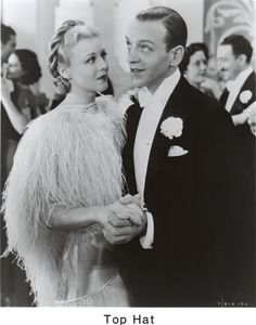 Ginger Rogers Top Hat 1935 The lovely feather dress that made the dance soooo romantic and thrilling.