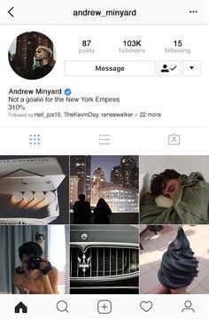 Andrew's instagram