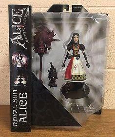 Diamond Select Toys Alice Madness Returns: Royal Guard Suit Alice Figure NEW