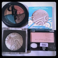 4 New Eye Shadow Bundle 1 Pacifica Natural Eyeshadow - Ethereal 1 Maybelline Perfect Pastels - Pink Petal 1 Be a Bombshell  - Bora Bora 1 Jesse's  Girl   All new and never used. Makeup Eyeshadow