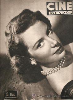 1953 CINE MUNDO mag Deborah Kerr