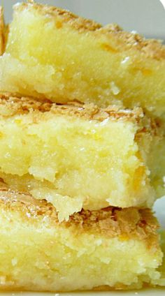 Gooey Orange Bars...Want to try this, but will cut back on the sugar...  Sounds like quite a lot to me!