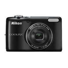 Nikon COOLPIX L26 16.1 MP Digital Camera with 5x Zoom NIKKOR Glass Lens and 3-inch LCD (Black) --- http://www.amazon.com/Nikon-COOLPIX-Digital-Camera-NIKKOR/dp/B0073HSKAA/?tag=sipaab070-20