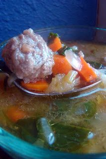 Italian Wedding Soup (primal : grain-free : GAPS : gluten-free)