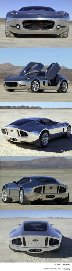 Slick Chrome Ford Shelby GR-1 Wow!