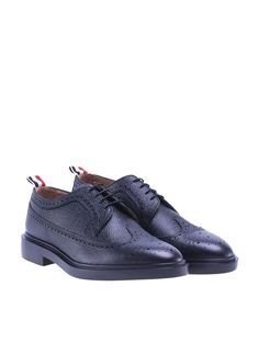 THOM BROWNE Pebbled Leather Brogues From Thom Browne. #thombrowne #shoes #