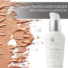 Wow a new make up feeling and moisturizer with anti-aging ingredients Check out this link