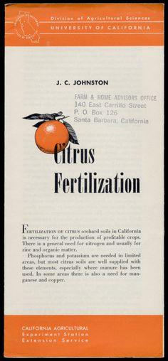 Citrus Fertilization, 1953  http://www.amazon.com/gp/product/B01NAGR2UV/ref=cm_sw_r_tw_myi?m=A3FJDCC1SFO8CE