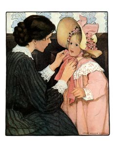 the bonnet--Jessie Wilcox Smith