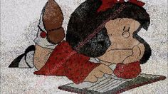 GRÀFICOS A PUNTO DE CRUZ. NUEVOS EN LA WEB 2 Videos, Painting, Art, Knitwear, Punto De Cruz, Dots, Art Background, Painting Art, Kunst