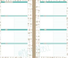 Hey, I found this really awesome Etsy listing at https://www.etsy.com/listing/206672059/personal-filofax-turquoise-week-planner