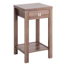 Hall table in dark wood