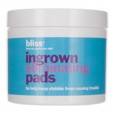 Perfect your bikini line with Bliss Ingrown Eliminating Pads