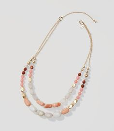 Image of Desert Sunset Double Strand Necklace