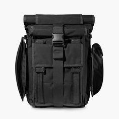 The Explorer by Mission Workshop - Weatherproof Bags & Technical Apparel - San Francisco & Los Angeles - Built to endure - Guaranteed forever Laptop Carrying Case, Laptop Case, Mission Workshop, Mens Gear, Macbook, Shoulder Strap, Backpacks, San Francisco, Bag Design