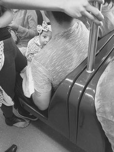 O papai, o metrô e a matemática. - Casal Tiago e Gabi
