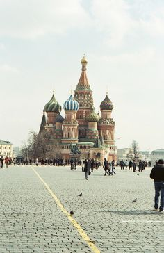 Moscow: The creation of such beauty in a country that has suffered so much.