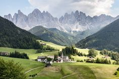 Val di Funes, Italy, photo by check his feed for Trekking, Road Trip, Insta Photo, Wonders Of The World, Beautiful Places, Amazing Places, Landscape Design, Places To See, The Good Place