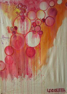 "Saatchi Online Artist Linda Colletta; Painting, ""MOMENTS"" #art"